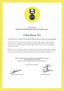 Certificate Designthinkers Academy